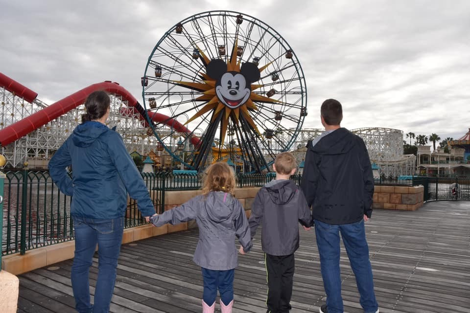 Free Flights to Disneyland California with Southwest Companion Pass
