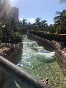 Lazy River at Atlantis Paradise Island Bahamas