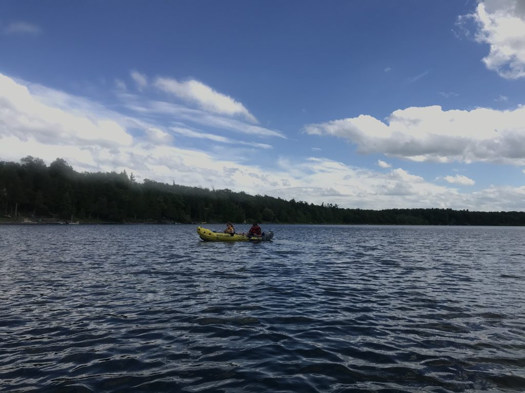 Thompkins Lake Kayaking