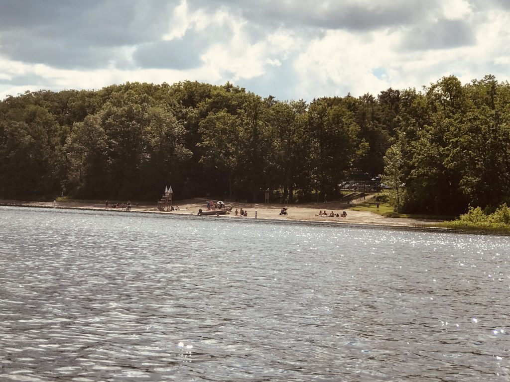 Thompson's Lake State Park Beach