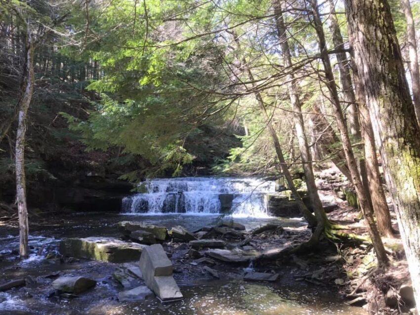 Christman Sanctuary Capital Region Waterfall Hikes with Kids