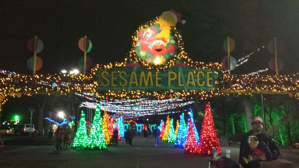 Sesame Place Christmas Party