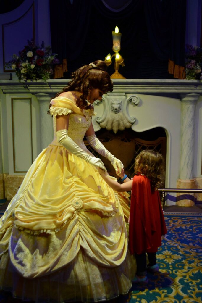 Enchanted Tales with Belle Walt Disney World Budget Disney World with Kids