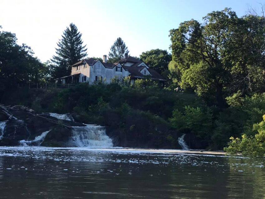 Capitol Region Waterfalls with kids