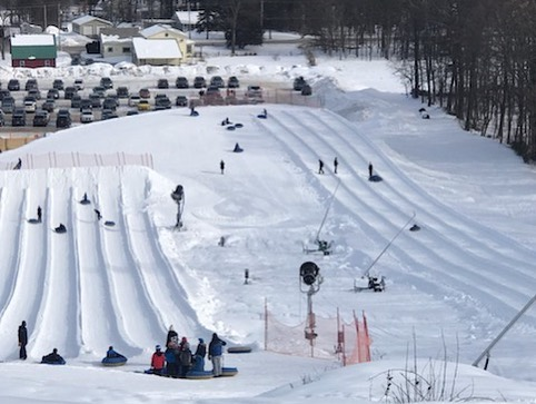 West Mountain Tubing