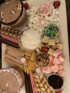 Hot Cocoa Bar is perfect Cheap Things to Do When it Rains on your Affordable Family Vacation