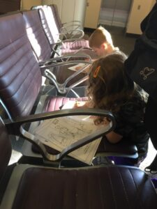 Ways to Keep Young Kids and Toddlers Entertained on a Plane or in the Airport